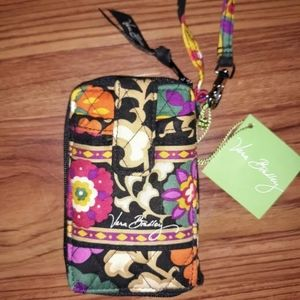 Vera Bradley carry all wristlet Suzani NWT